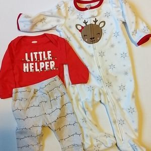 Baby Christmas Lot * Size 3-6 Months